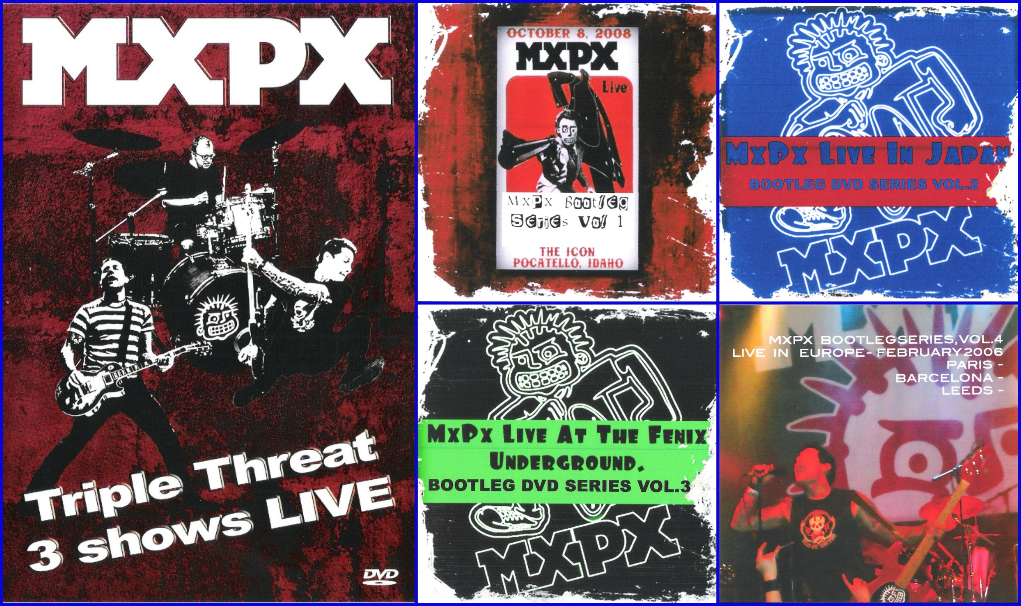MxPx Live Bundle