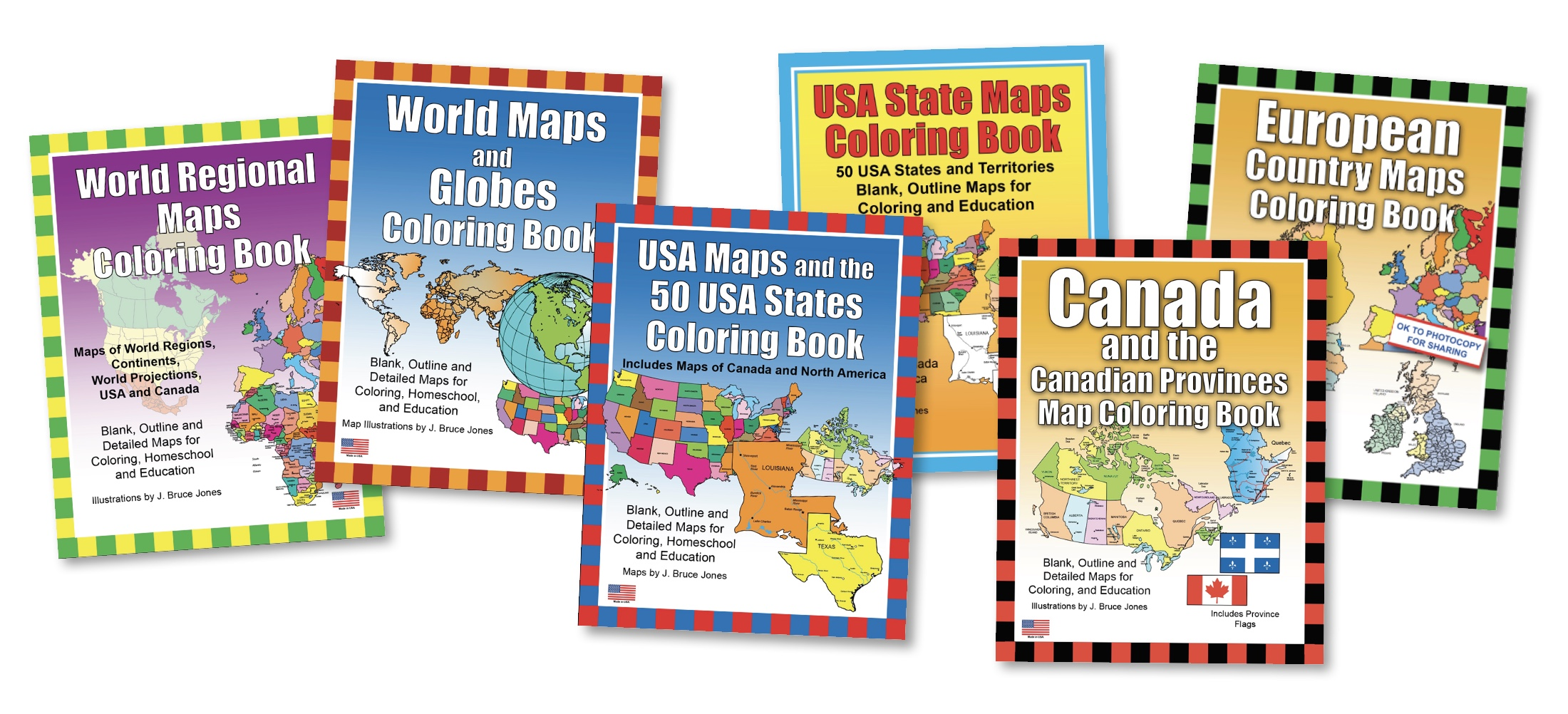 Picture of: Usa Maps And The 50 Usa States Printable Pdf Coloring Book