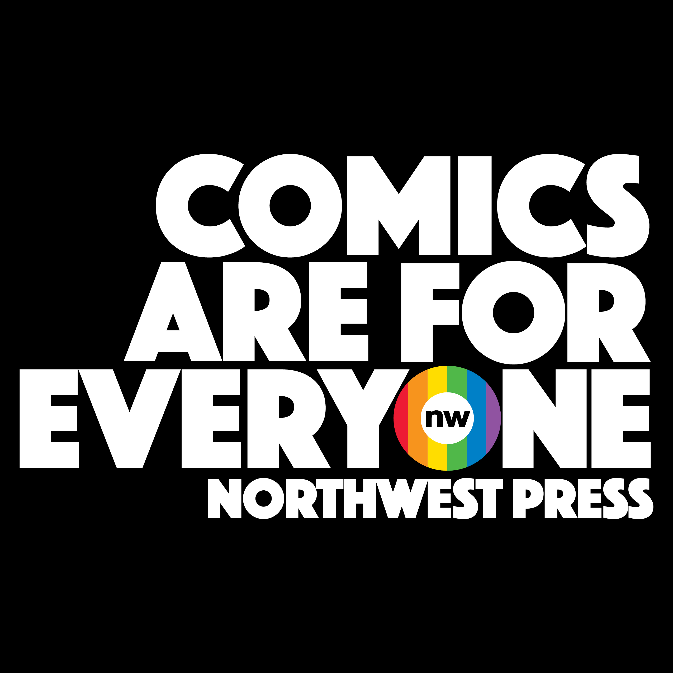 Comics%20are%20for%20everyone%20lockup%20tall%20right%20justified%202015%20cmyk%20white