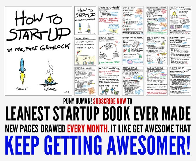 SUBSCRIBE TO: HOW TO STARTUP