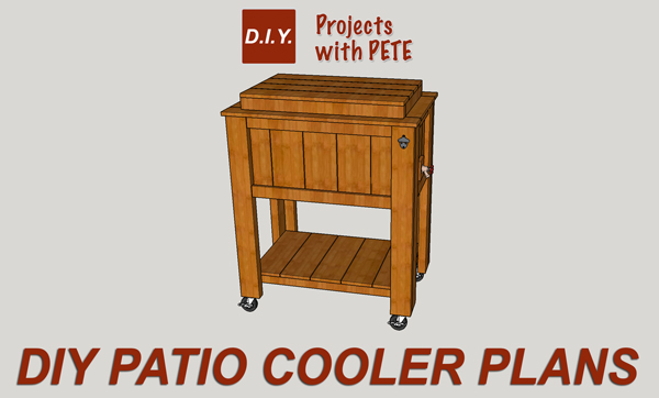Diy pete simple wine rack plans for Wooden beer cooler plans