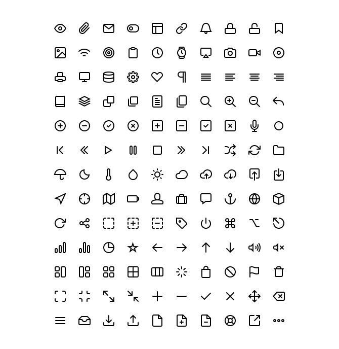 130 Free icons