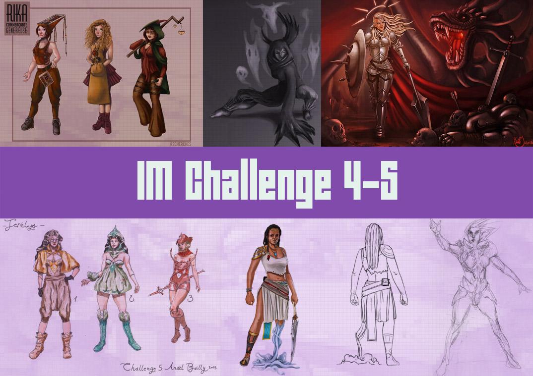 IM Challenge #5 : Personnages féminins - Page 2 BaseChallengeMiniature
