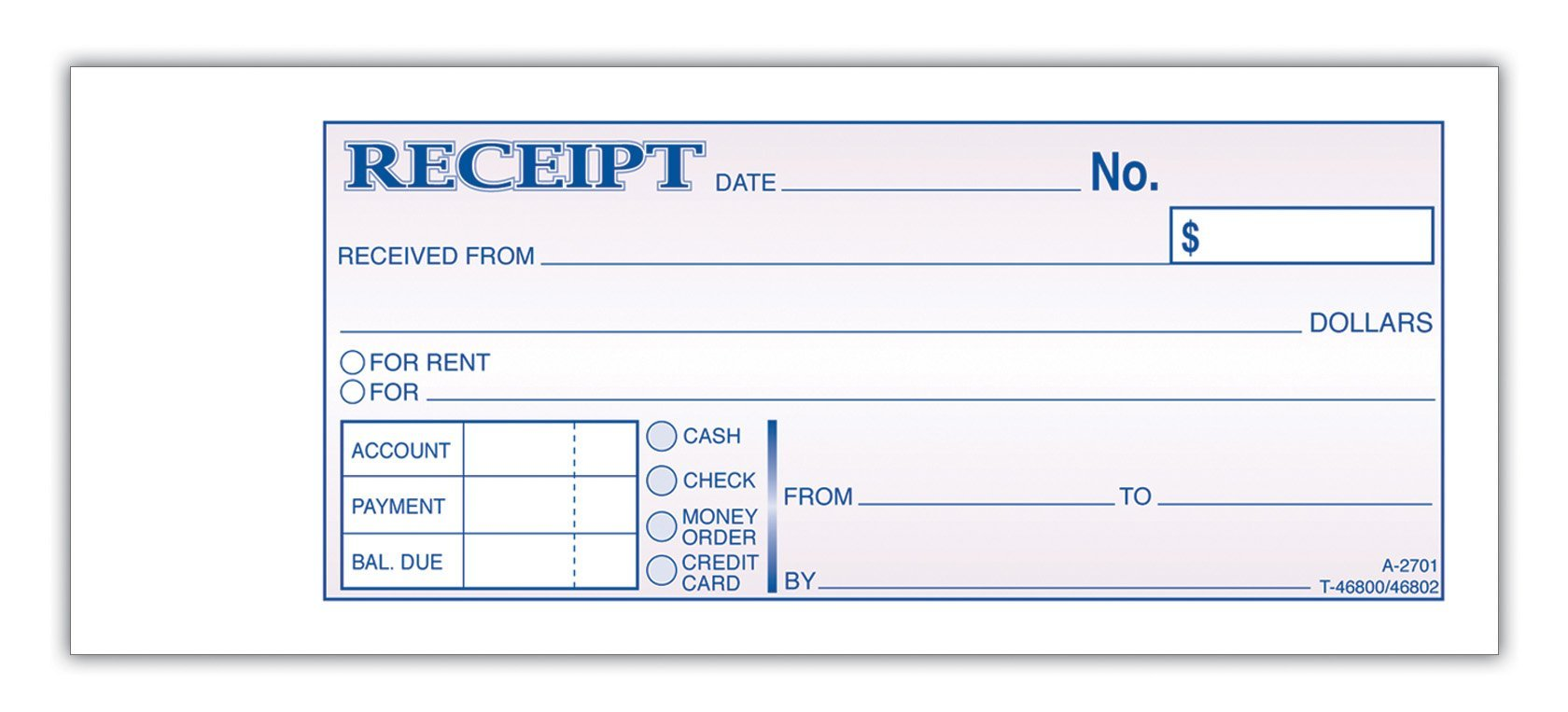 receipt for rent – Rental Payment Receipt