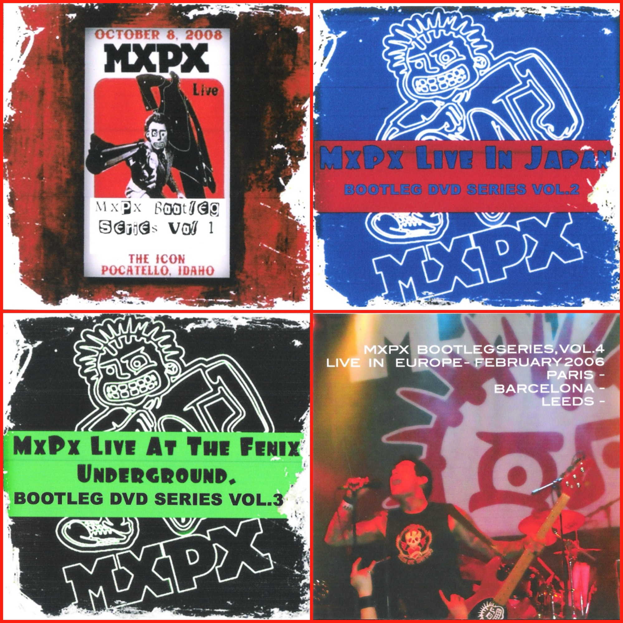 MxPx Bootleg Bundle